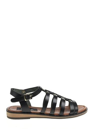 Derigo Siyah Kadın Sandalet 521224 Siyah